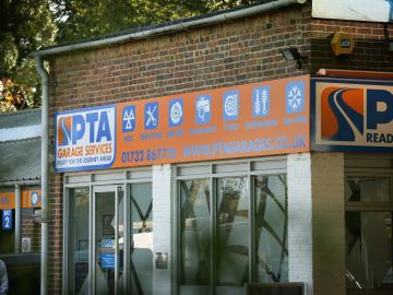 PTA Garage Services Edenbridge provides a range of services including MOT testing, car servicing, tyres, brakes, batteries, exhausts, wheel alignment and more