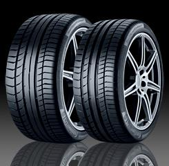 PTA Garage Services have named the Continental Sport Contact 5P as tyre of the month this April