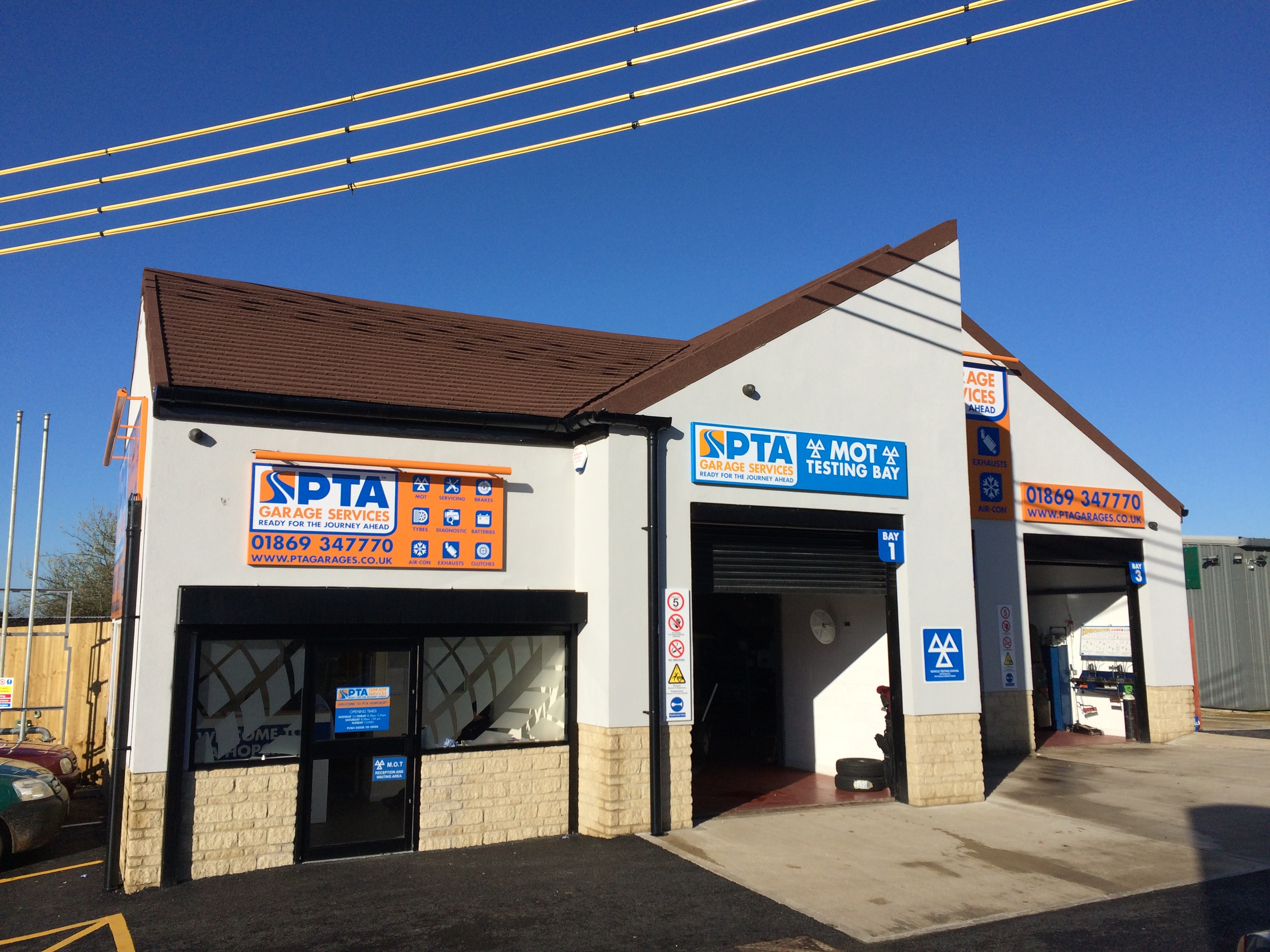 PTA Garage Services Hopcroft/Bicester provides a range of services including MOT testing, car servicing, tyres, brakes, batteries, exhausts, wheel alignment and more