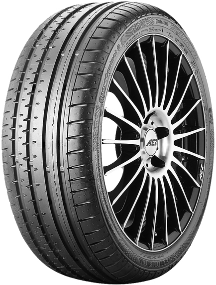 Buy new Continental ContiSportContact 2 tyres online from PTA Garage Services