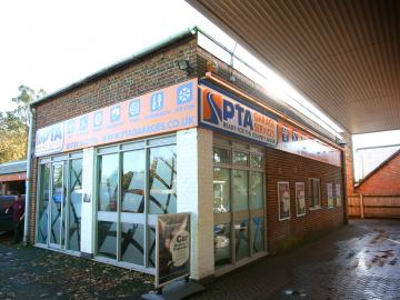 The exterior of our PTA Garage Services Edenbridge branch