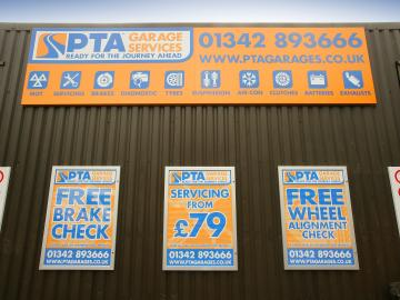 PTA Garage Services South Godstone offer great quality service at competitive prices