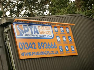 PTA Garage Services South Godstone branch