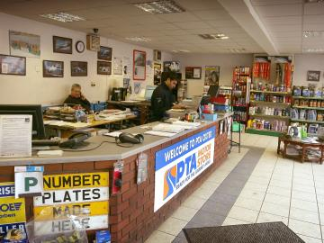 The interior of our PTA Motorstore Oxted branch