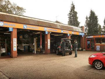 Visit PTA Motorstore Oxted - ideally situated to serve the areas of Limpsfield, Tatsfield, Westerham, Woldingham and Warlingham