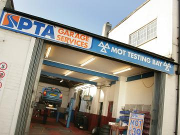 The interior of our PTA Garage Services Shirley branch