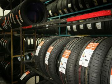 Buy car or motorbike tyres online and arrange a fitting at PTA Garage Services Shirley