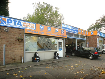 Visit PTA Garage Services Bromley - ideally situated to serve the areas Chislehurst, Hayes, Beckenham, Bickley and Downham