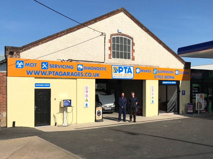 Visit PTA Garage Services Watton - ideally situated to serve the areas of Thetford, Mundford, Swaffham, Great Hockham, Dereham and Hingham
