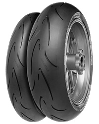 Buy new Continental ContiRaceAttack Comp Tyres motorbike tyres online from PTA Garage Services