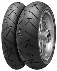 Buy new Continental ContiRoadAttack 2 motorbike tyres online from PTA Garage Services